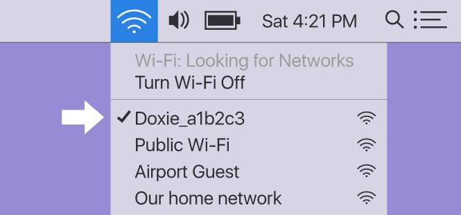 Doxie Q Help - Wi-Fi